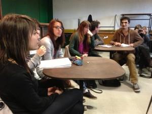 Réorganisation de la salle de classe